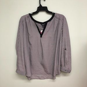 Dalia Quarter Sleeve Blouse (PM412)